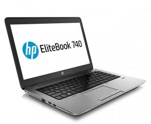 HP EliteBook 740 prawie nie różni się pod względem wyglądu od najlepszego z biznesowych notebooków HP – EliteBooka 840 G2